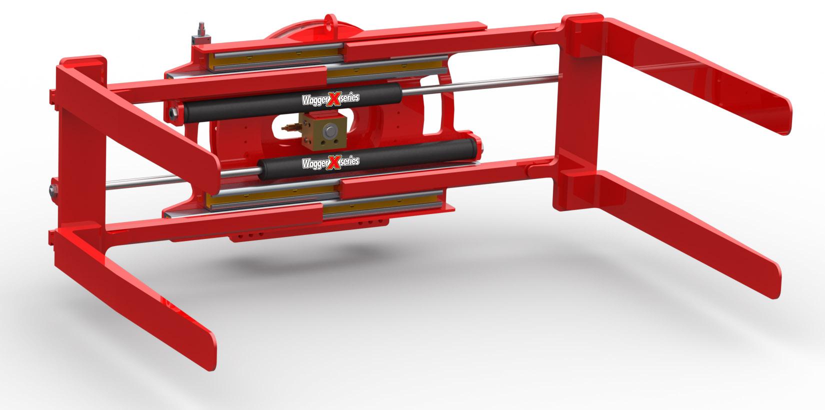 360° Rotating Pallet Inverter