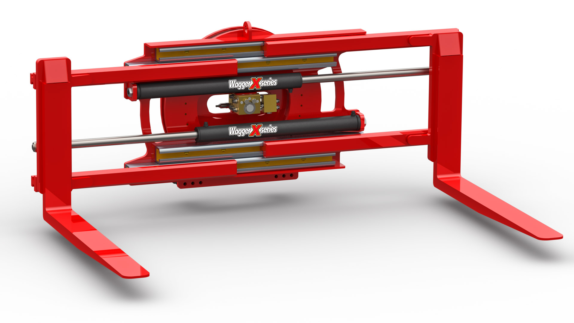 360° Rotating Pallet Fork Clamp