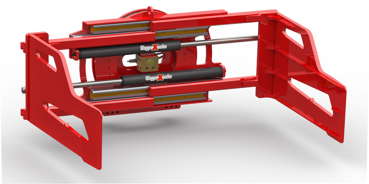 360° Rotating Bale Clamp