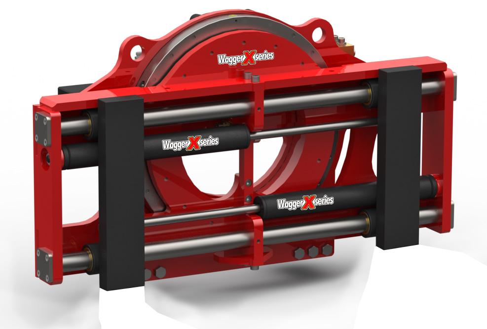 360° Rotating Fork Positioner – Non Sideshifting